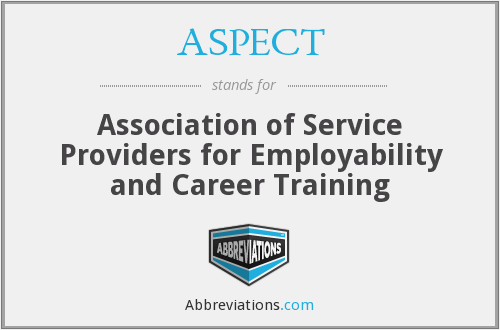 ASPECT - Association of Service Providers for Employability and Career Training