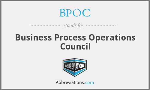 BPOC - Business Process Operations Council