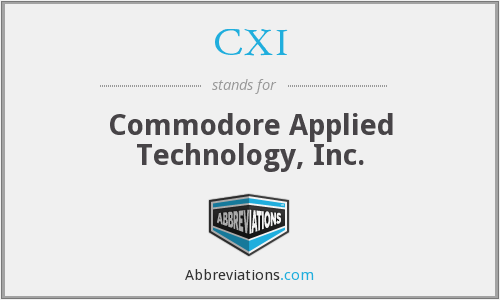 CXI - Commodore Applied Technology, Inc.