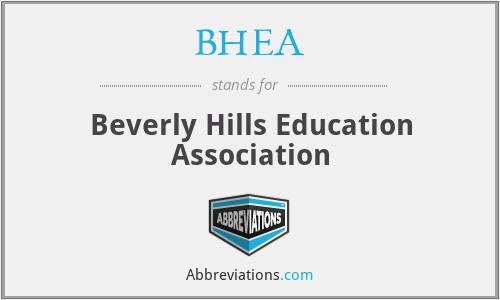 BHEA - Beverly Hills Education Association