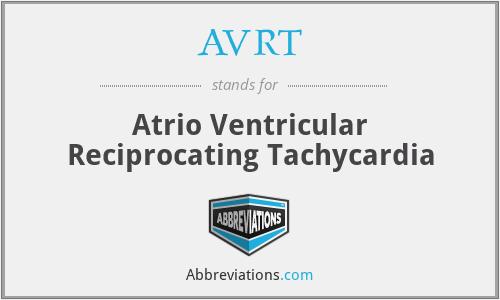 AVRT - Atrio Ventricular Reciprocating Tachycardia