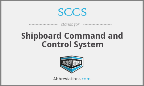 SCCS - Shipboard Command and Control System