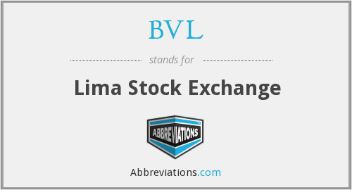 BVL - Lima Stock Exchange