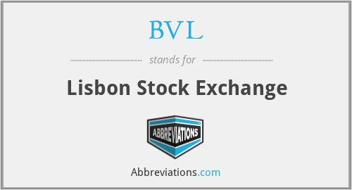 BVL - Lisbon Stock Exchange