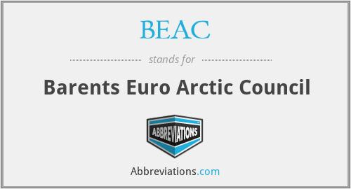 BEAC - Barents Euro Arctic Council