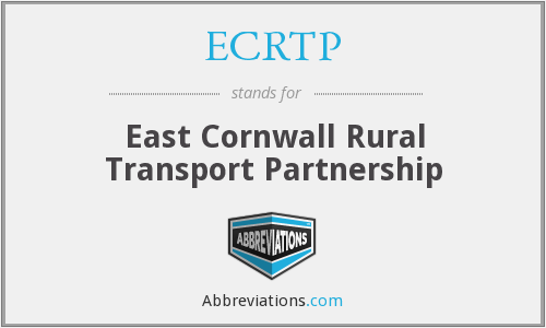 ECRTP - East Cornwall Rural Transport Partnership