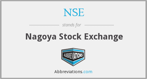 NSE - Nagoya Stock Exchange