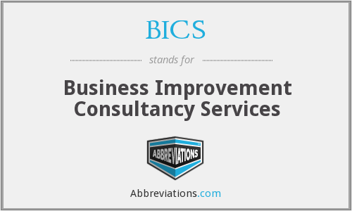 BICS - Business Improvement Consultancy Services