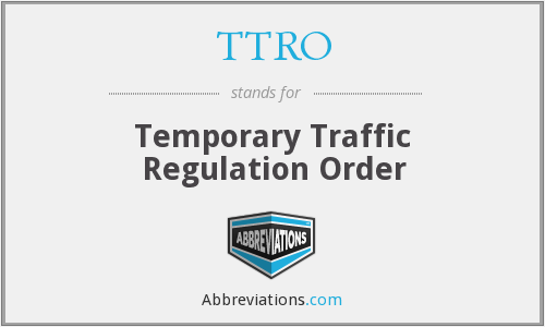 What does TTRO stand for?