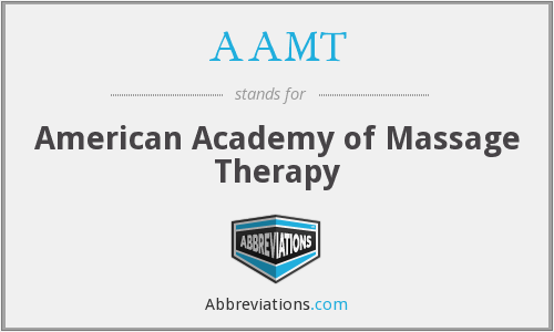 AAMT - American Academy of Massage Therapy