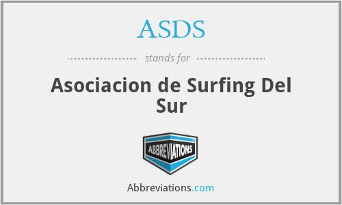ASDS - Asociacion de Surfing Del Sur