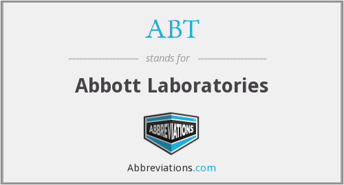ABT - Abbott Laboratories