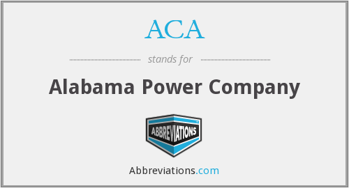 ACA - Alabama Power Company