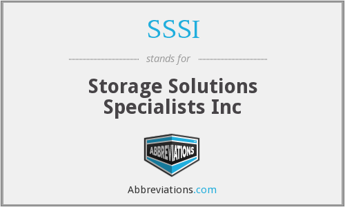 SSSI - Storage Solutions Specialists Inc