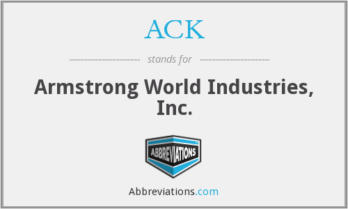 ACK - Armstrong World Industries, Inc.