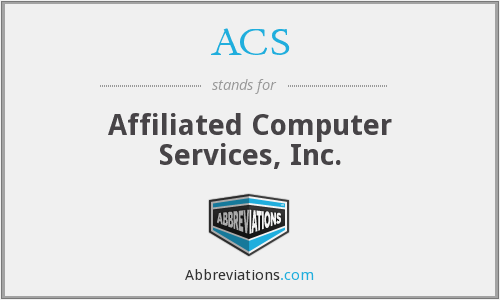 ACS - Affiliated Computer Services, Inc.