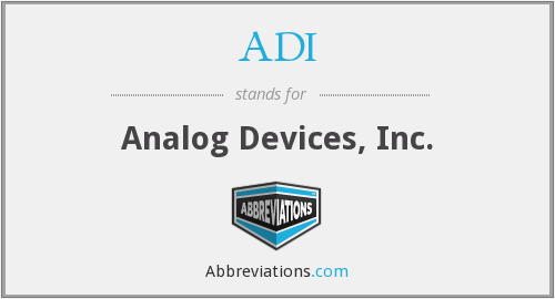 ADI - Analog Devices, Inc.