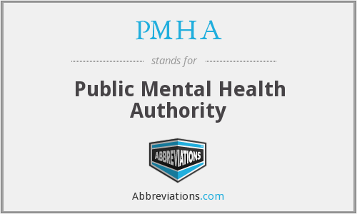 PMHA - Public Mental Health Authority