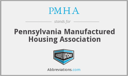 PMHA - Pennsylvania Manufactured Housing Association