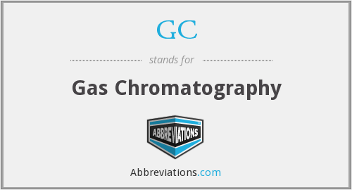 GC - Gas Chromatography