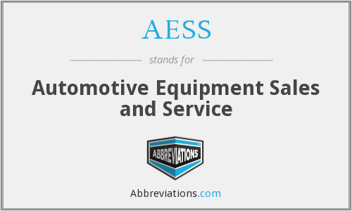 AESS - Automotive Equipment Sales and Service