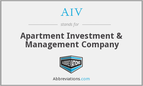 AIV - Apartment Investment & Management Company