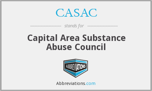CASAC - Capital Area Substance Abuse Council