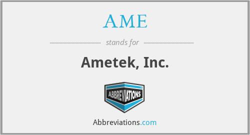 AME - Ametek, Inc.