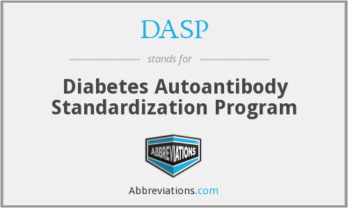 DASP - Diabetes Autoantibody Standardization Program