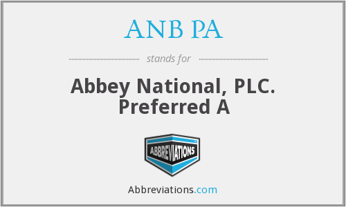 What does ANB PA stand for?