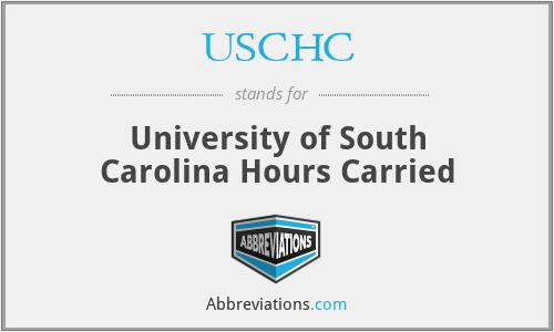 USCHC - University of South Carolina Hours Carried