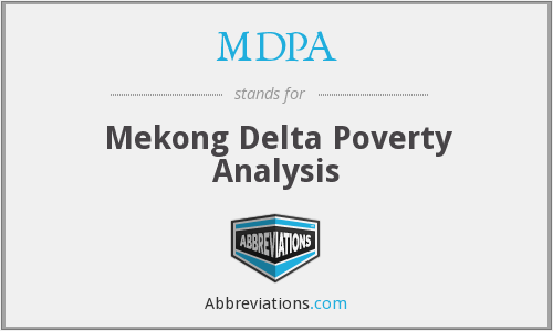 MDPA - Mekong Delta Poverty Analysis