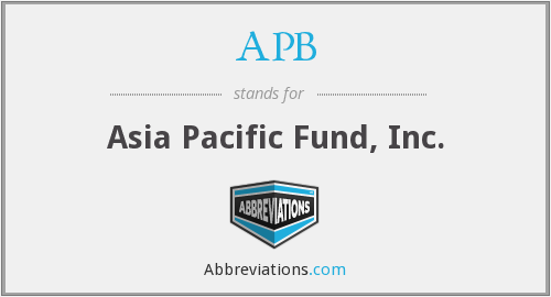 APB - Asia Pacific Fund, Inc.