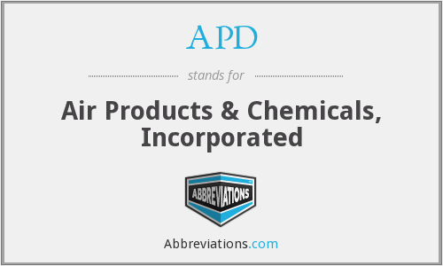 APD - Air Products & Chemicals, Inc.