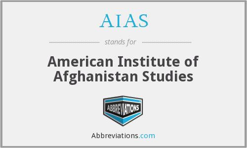 AIAS - American Institute of Afghanistan Studies