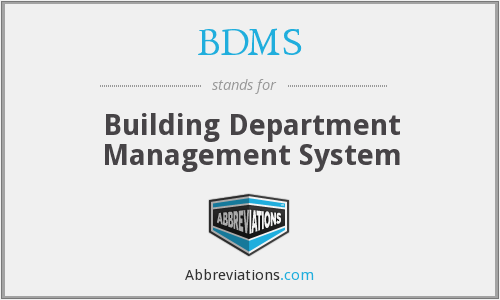 BDMS - Building Department Management System