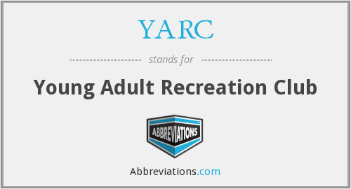 YARC - Young Adult Recreation Club