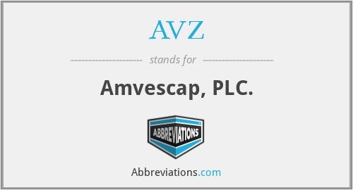 AVZ - Amvescap, PLC.