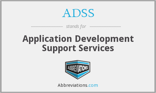 ADSS - Application Development Support Services