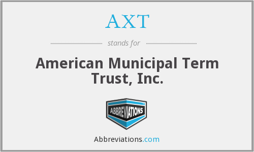 AXT - American Municipal Term Trust, Inc.