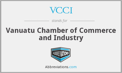 VCCI - Vanuatu Chamber of Commerce and Industry