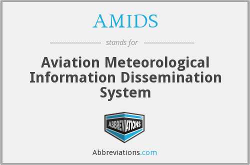 AMIDS - Aviation Meteorological Information Dissemination System