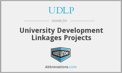 UDLP - University Development Linkages Projects
