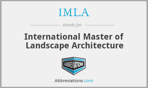 What does IMLA stand for?