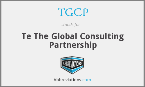 What does TGCP stand for?