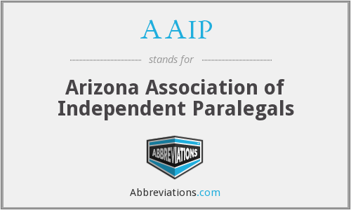 AAIP - Arizona Association of Independent Paralegals