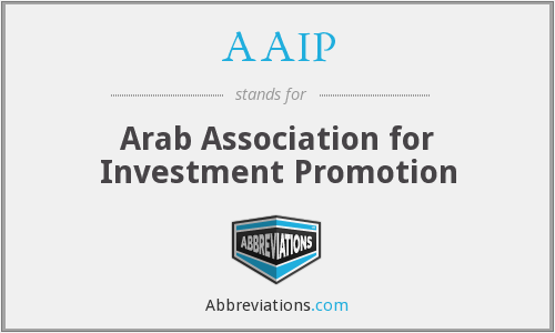 AAIP - Arab Association for Investment Promotion