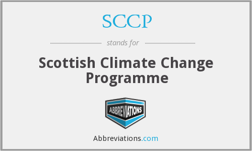 SCCP - Scottish Climate Change Programme