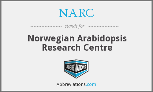NARC - Norwegian Arabidopsis Research Centre
