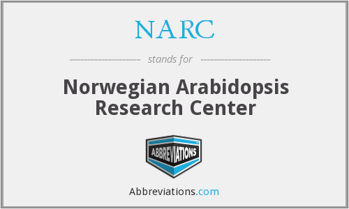 NARC - Norwegian Arabidopsis Research Center